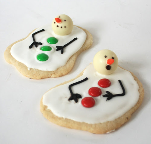Post image for Melting Snowman Christmas Cookie