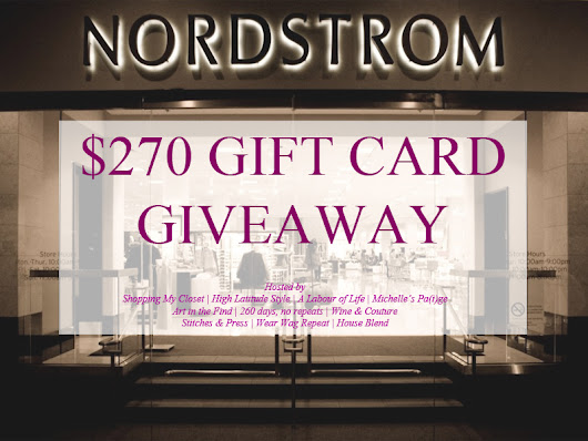 Giveaway: Nordstrom Gift Card