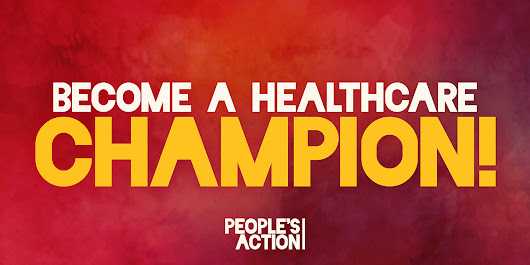 Take the Pledge: Become A Healthcare Champion