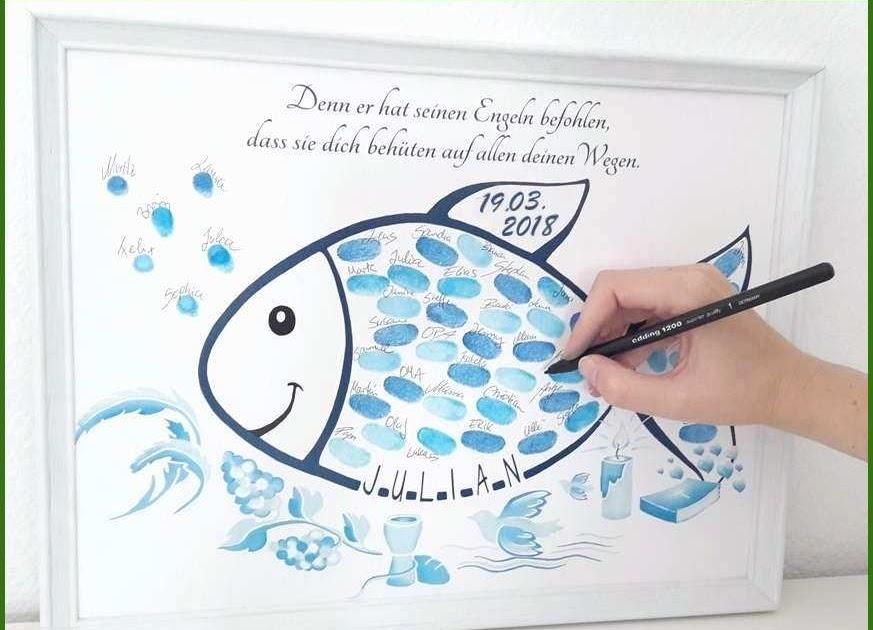 Ausdrucken zum taufe fisch Fisch Zum