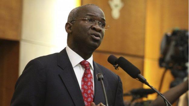 Former Nigeria's Lagos state governor Babatunde Fashola