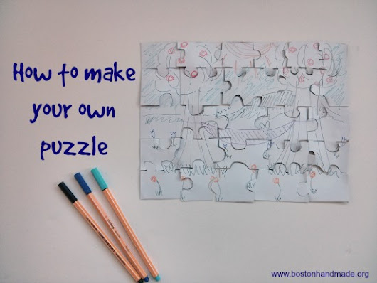 How to make your own puzzle - Linkouture