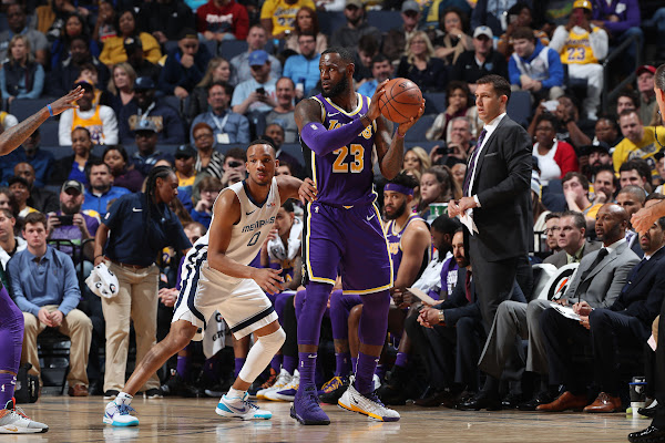 287019a7601d Lakers fall to Grizzlies despite LeBron James' triple-double for second  straight loss