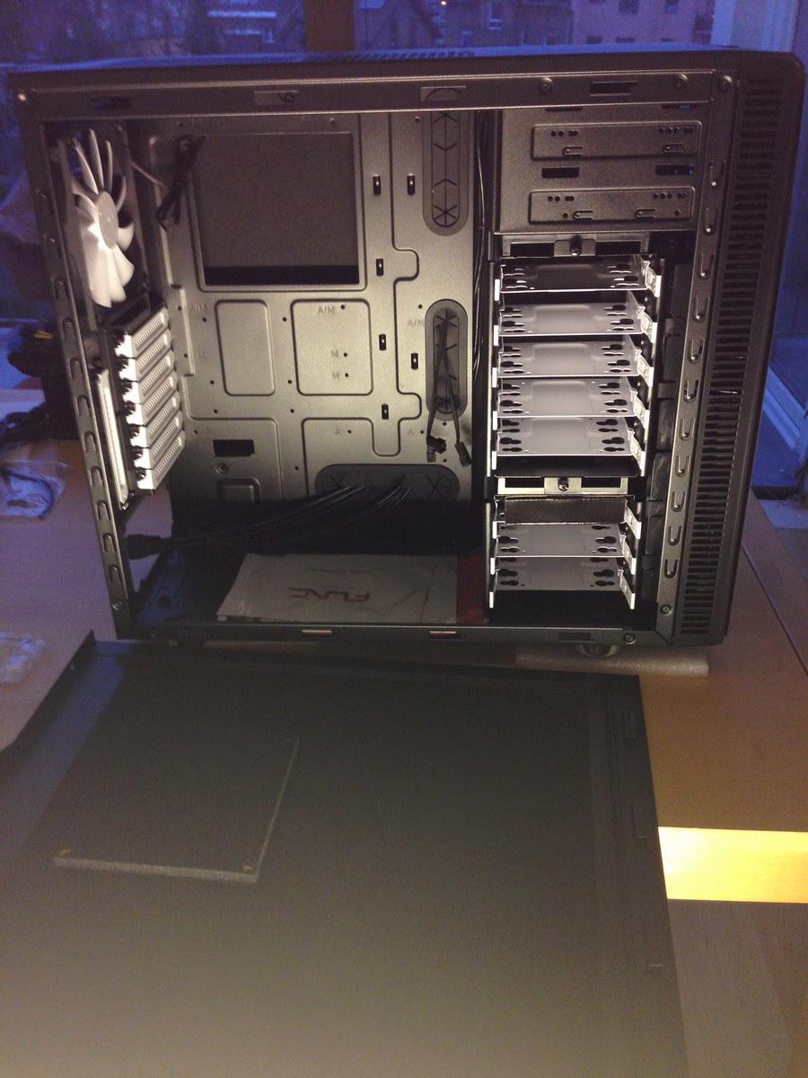 neuer Rechner für die Bildbearbeitung zusammenbau / new system for image processing mounting 008