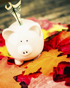 Autumn Piggy Bank2