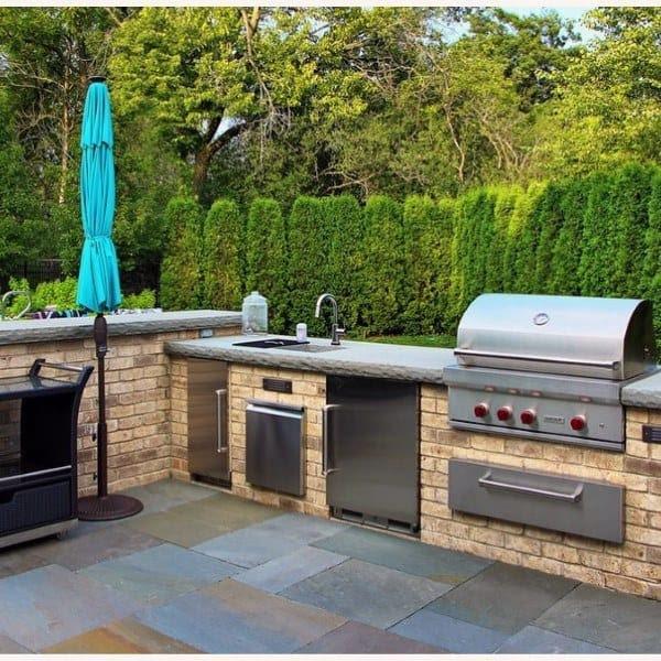 smart idea backyard patio kitchen ideas