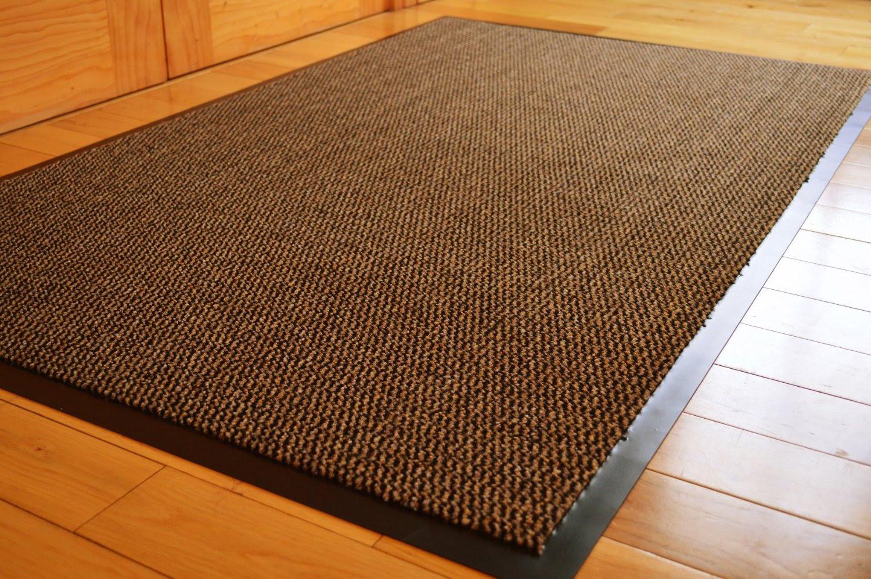 Jute or natural fibers mat idea for kitchen