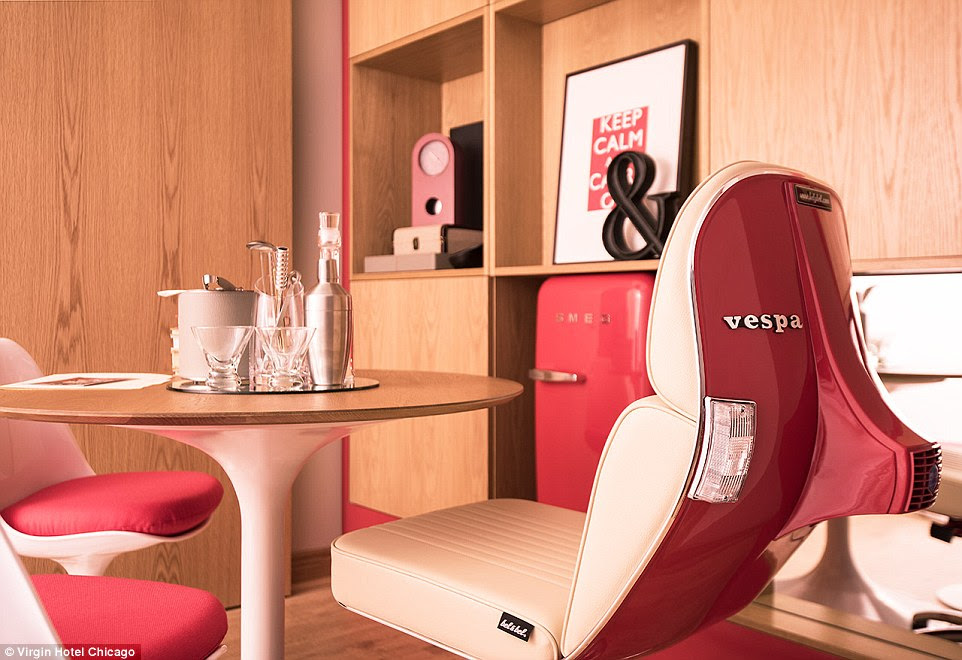 Some of the quirky additions at the hotel are designed to make female travellers feel comfortable and offer a sense of 'fun'