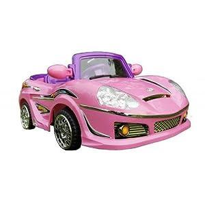 Amazon.com: NEW KIDS RIDE ON TOY CAR POWER WHEELS ELECTRIC MINI 6 V PINK racing  Sports Car