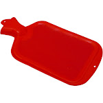 Relief Pak Hot Water Bottle, Red, 2 qt