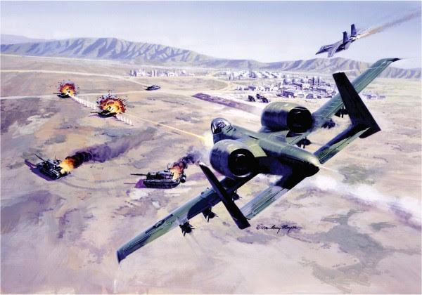 A-10 en la acción