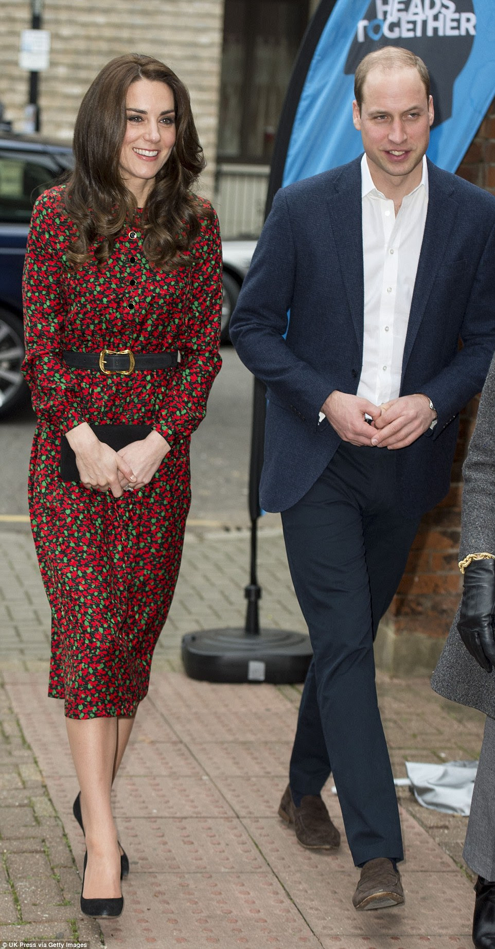 The royals looked in good form while carrying out their last official duties before the Christmas break
