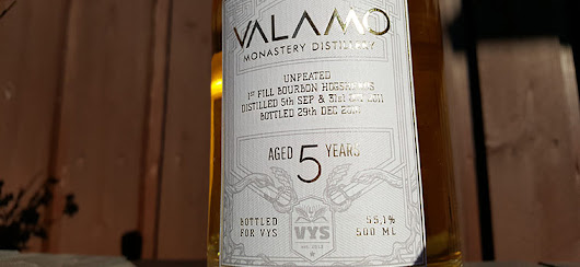 Valamo 5 year old VYS cask strength whisky review