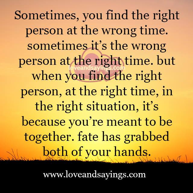 Quotes About Falling In Love With The Right Person At The Wrong Time