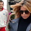 'I'm an idiot': Rafael and Sylvie van der Vaart pictured as they announce split after he apologises for hitting her