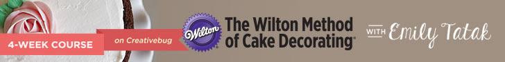 Creativebug Wilton Method Cake Decorating
