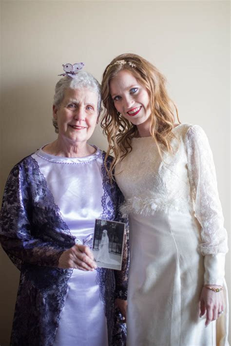 grandmother wedding attire