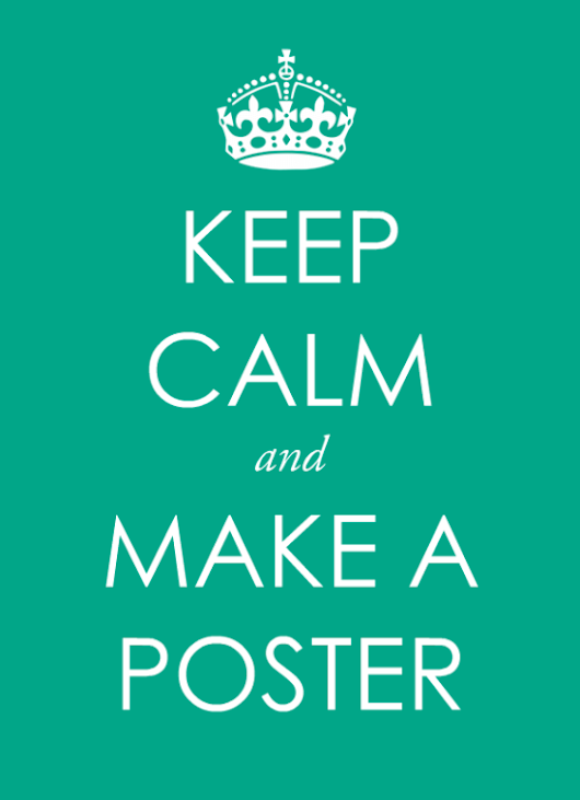 Make a Keep Calm poster – free template | BannerSnack blog