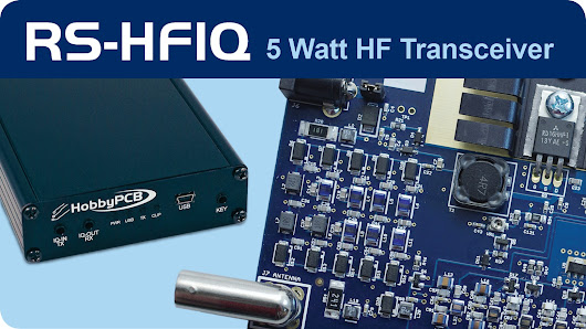 RS-HFIQ 5W Software Defined Radio (SDR) Tranceiver