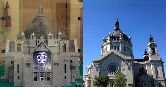 The Kids Volunteer to Clean Cathedral of Saint Paul (of Legos) - State by State