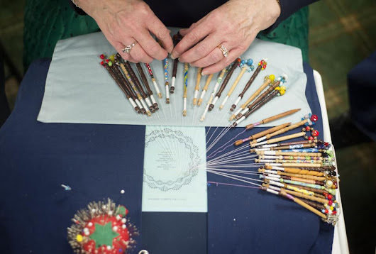 Bobbin lace: Cardinal Lace Guild keeps age-old craft alive