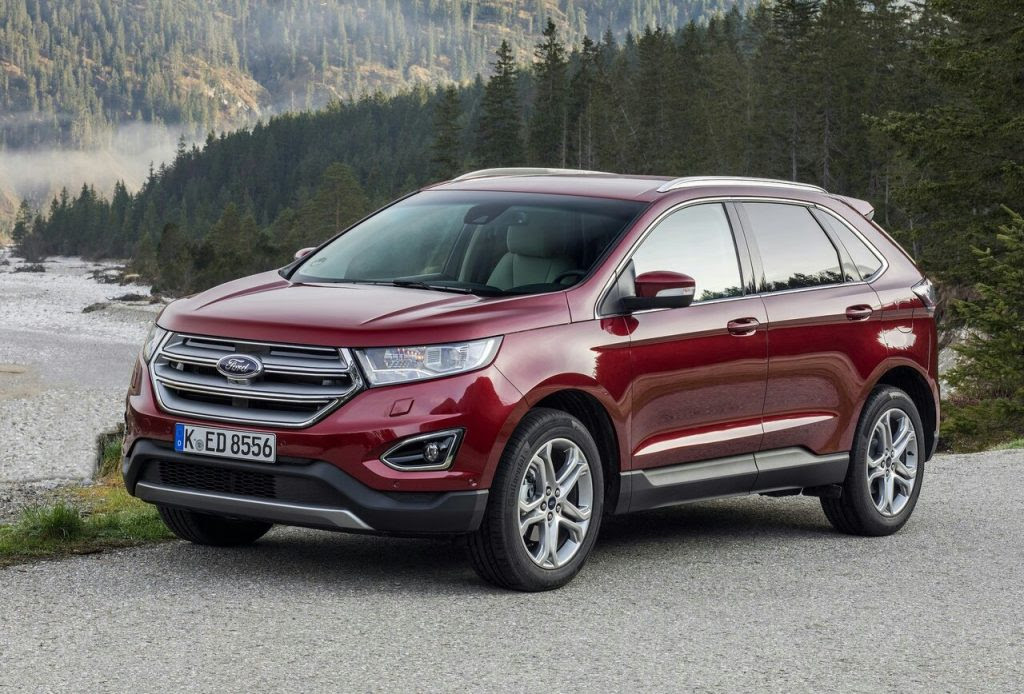 Ford Edge Oopscars  Ford Ecosport Redesign Ford Edge Amp