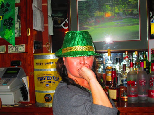 on St. Patrick's Day, I'm Irish!…