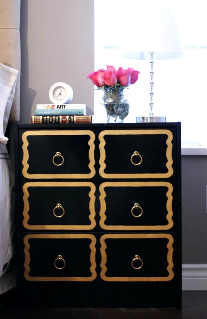 DIY: $35 Ikea Dresser into $4,000 Dorothy Draper Chest!