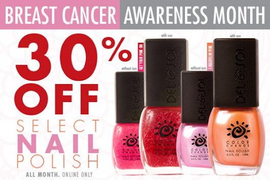 Celebrate Breast Cancer Awareness Month with Del Sol | Del Sol