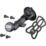 RAM X-Grip Phone Mount with RAM Twist-Lock Suction Cup by PilotMall.com