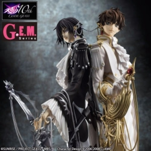 G.E.M. Series Code Geass - Lelouch of the Rebellion R2 CLAMP works in Lelouch & Suzaku Collectible