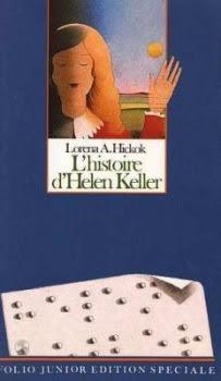 Couverture L'histoire d'Helen Keller