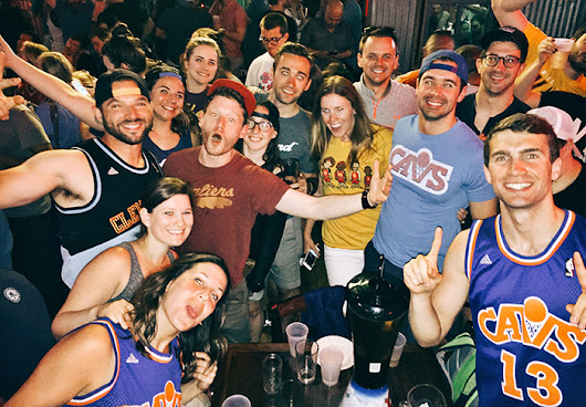 Watch 2017 CAVS playoff basketball in NYC with your fellow Cleveland fans
