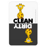 Cute Giraffe Dishwasher Magnet