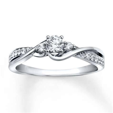 FAVORITE!!!!!! Diamond Engagement Ring 1/3 ct tw Round cut