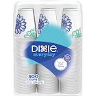Dixie Action Pack Cold Cups, 12 oz, White/Multicolor, 300/Carton