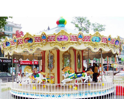 Fiberglass Grand Kiddie Carousel Rides for Sale – Beston Rides
