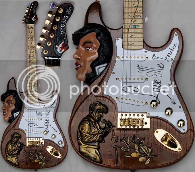 Elvis Love me Tender guitar