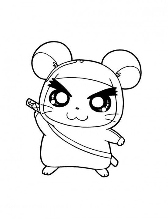 9200 Top Coloring Pages Cute Hamster , Free HD Download