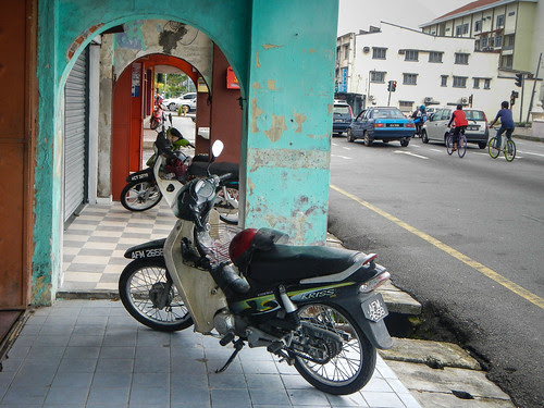 Parked Motorcycles Malaysia