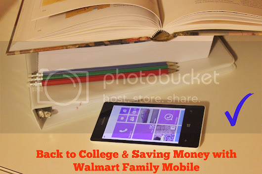 Back to College & Saving Money with the Lowest Priced Unlimited Plans from Walmart Family Mobile #Phones4School #CollectiveBias #CBias #Shop - Life According to Damaris - Georgia Blogger, Latina Mommy & Wife!