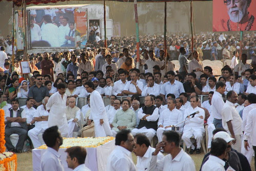 Mr Raj Thackeray at Shree Balasaheb Thackerays Last Rites Shivaji Park by firoze shakir photographerno1