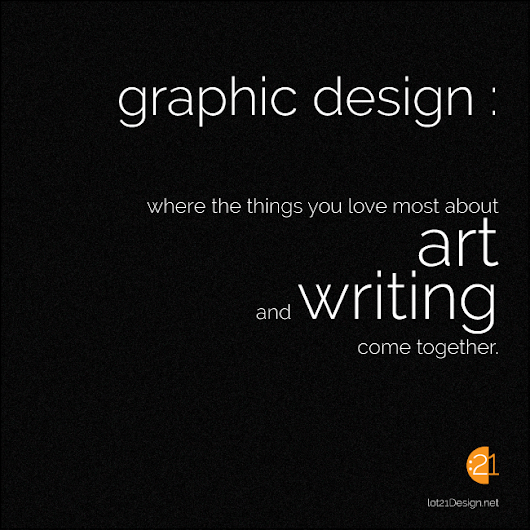 Graphic Design Art Writing in Visual Communication