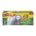 Glad Drawstring Bags, Tall Kitchen, Original Scent, 13 Gallon - 23 bags