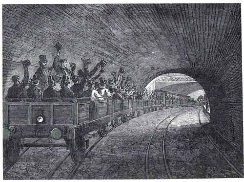 sub railway met opening - London Transport Museum