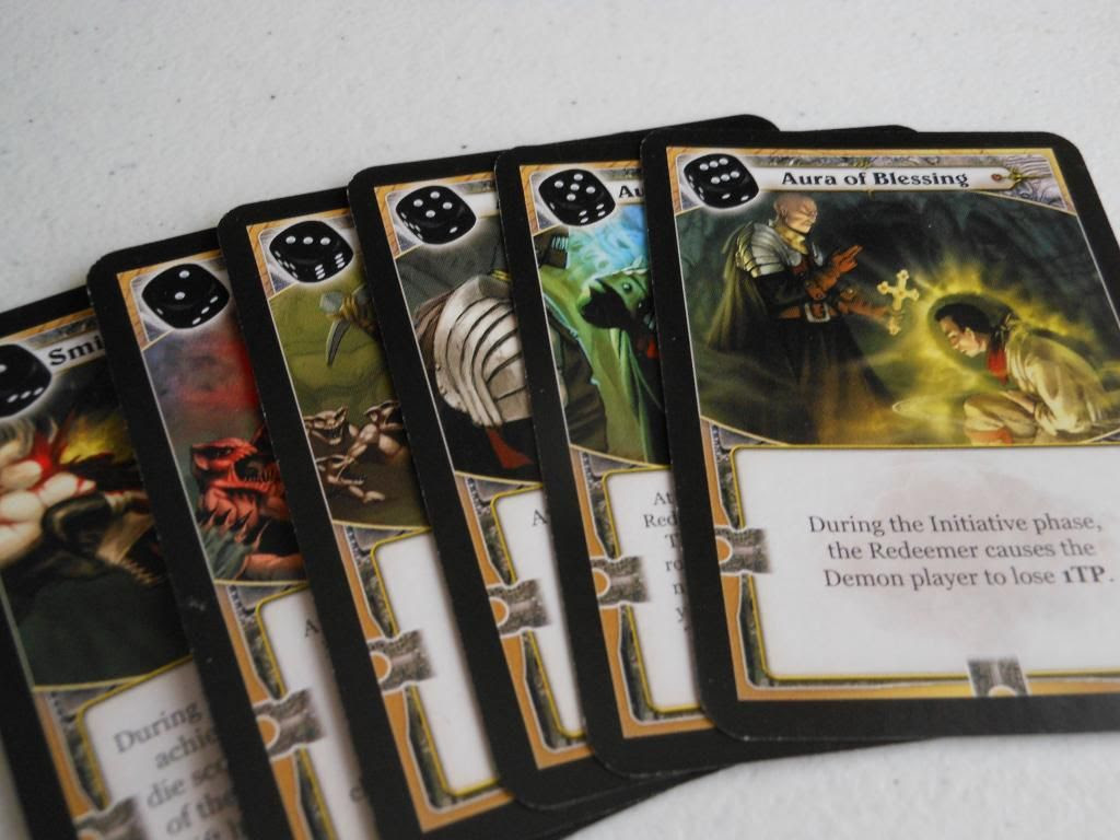 Claustrophobia redeemer cards