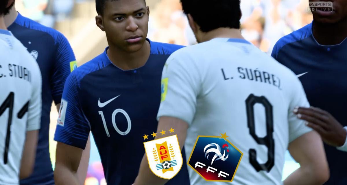 Coupe Du Monde 2018 Uruguay France Notre Simulation Sur