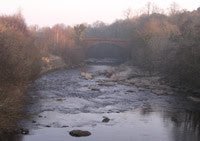 Avon Bridge from Old Avon Bridge