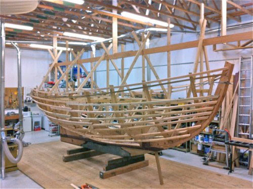 Woodworking Workshop   Boat Building Workshop
