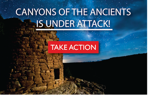 TAKE ACTION: Canyons of the Ancients is Under Attack